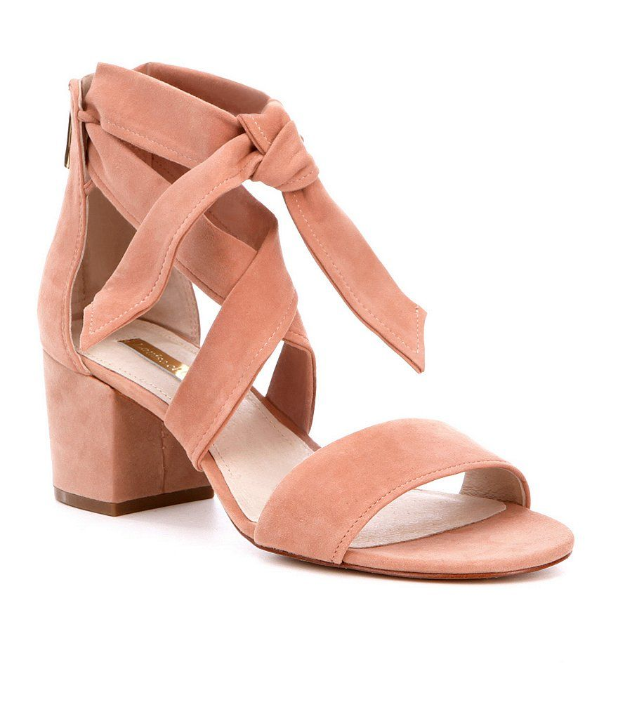 69aa6fd16f3 Macaroon Louise et Cie Gia Wrap Around Ankle Strap Sandals