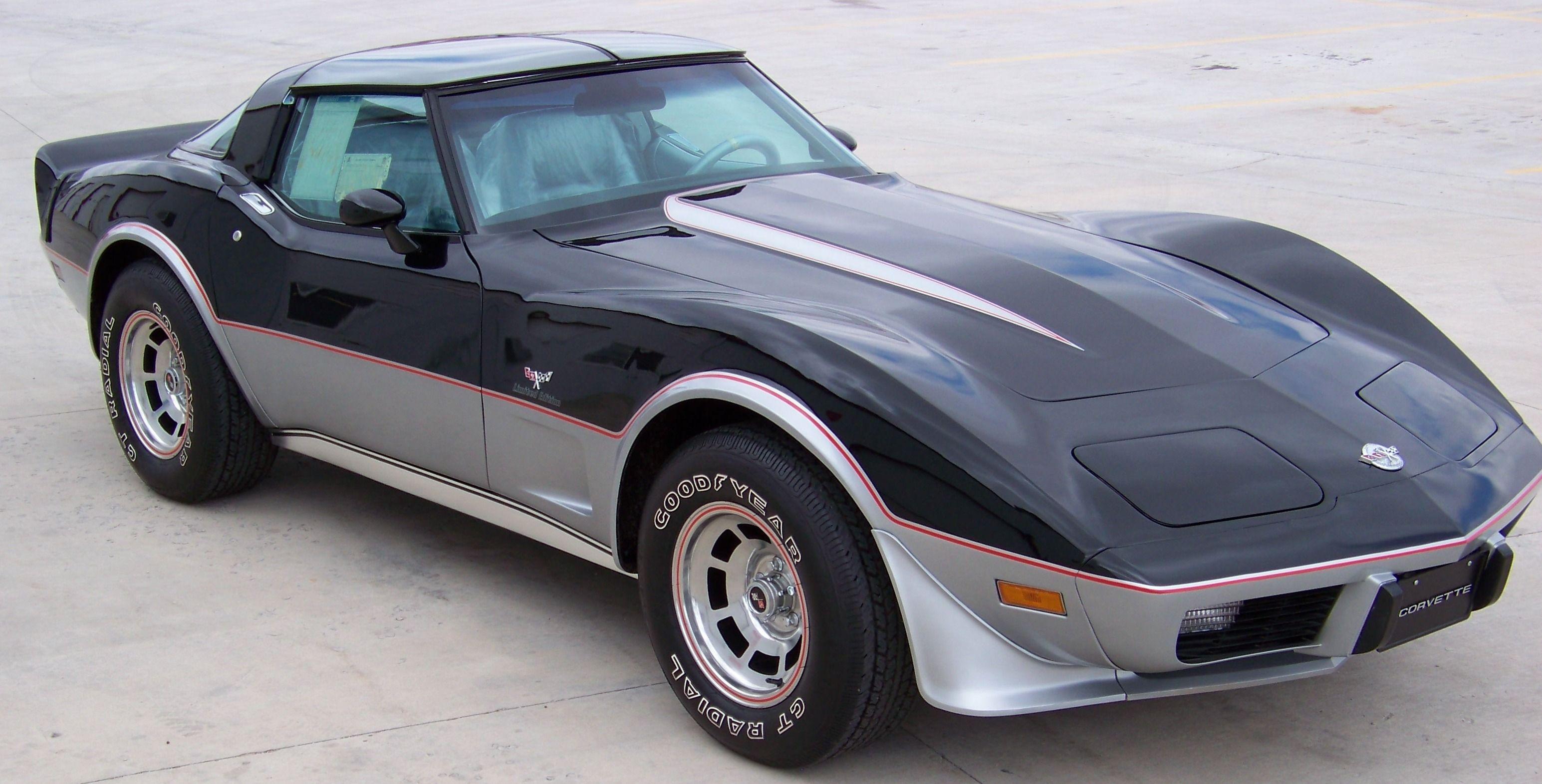 78 corvette 25th anniversary edition