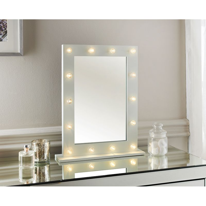 Hollywood Dressing Table Mirror Decorative Mirrors B Amp M