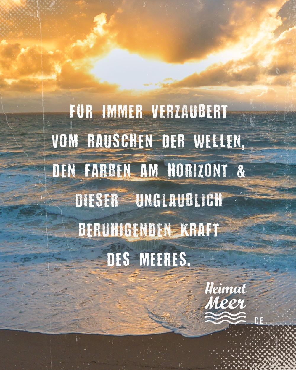 Für Immer Verzaubert Vom Meer Mee H R Von Heimatmeer
