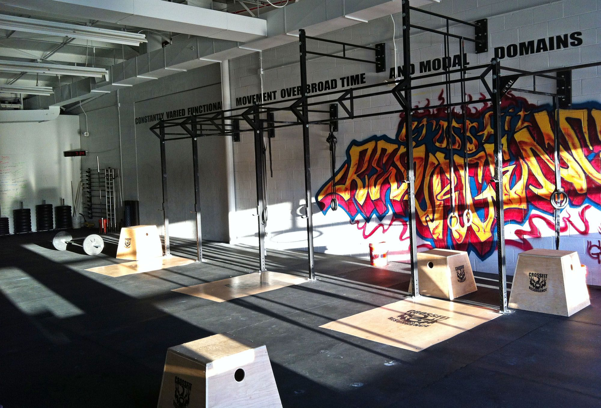 If the walls of your box could talk, what would they say? #crossfit