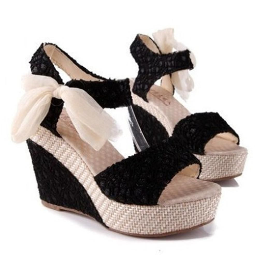 2c98b4634 New Arrival Ladies Shoes Women Sandals Summer Open Toe Fish Head Fashion  Platform High Heels Wedge Sandals Female Shoes Women  shoppingers   shoppings   ...