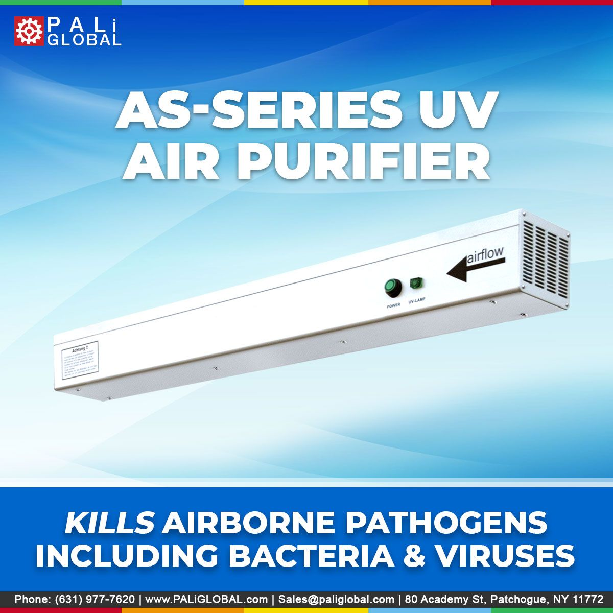 Kill Airborne Pathogens Including Bacterias and Viruses