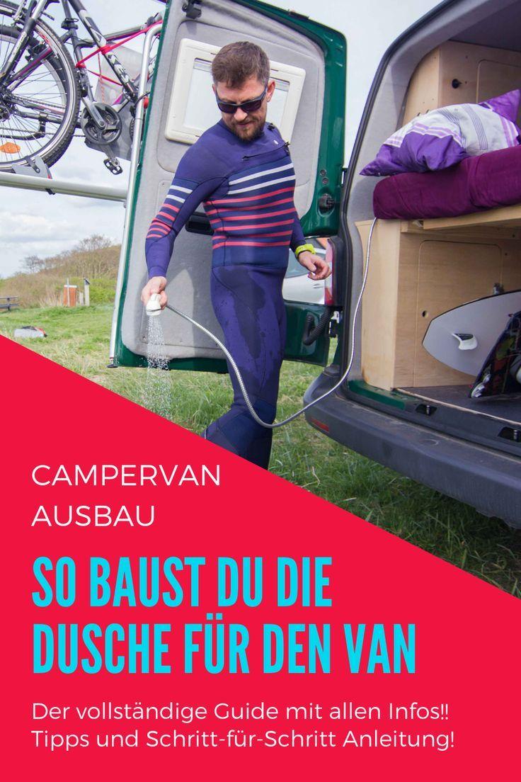 VW T5 Ausbau Camping Wasseranlage im VW Bus Camping