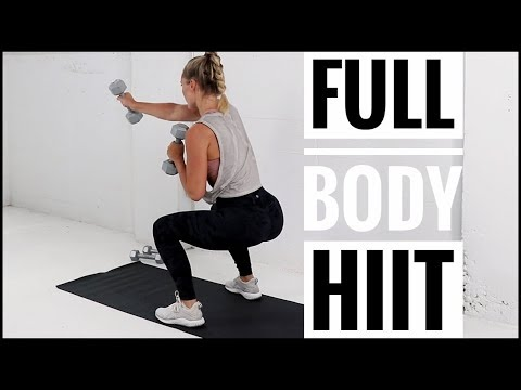 7 no repeat workout // full body hiit workout with