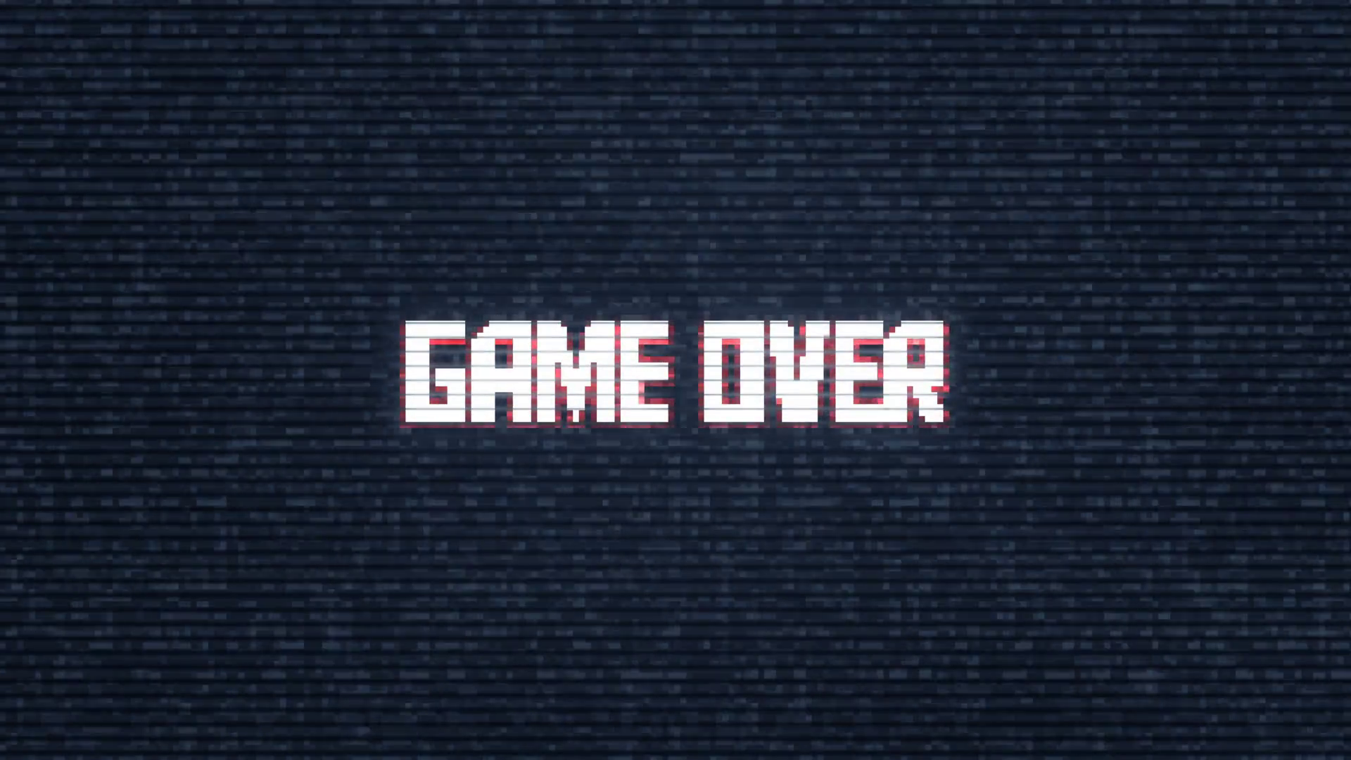Image Result For Game Over Screen Static Game Over Screen 90s Font Retail Logos
