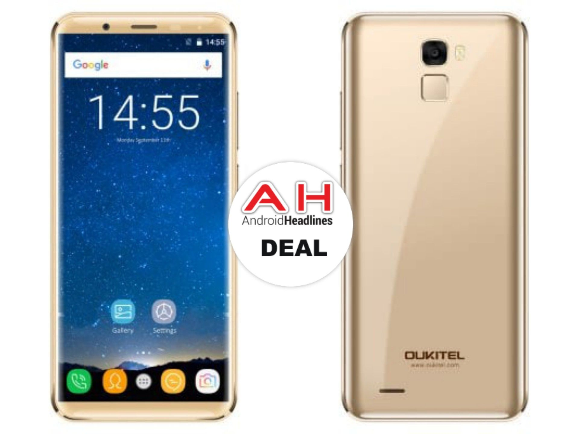 GearBest Deal Big Battery OUKITEL K5000 For $159 99 Android Google