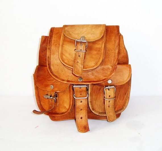 NATURAL LEATHER BAGStanned leather bagsdesigner door BONJOURstore
