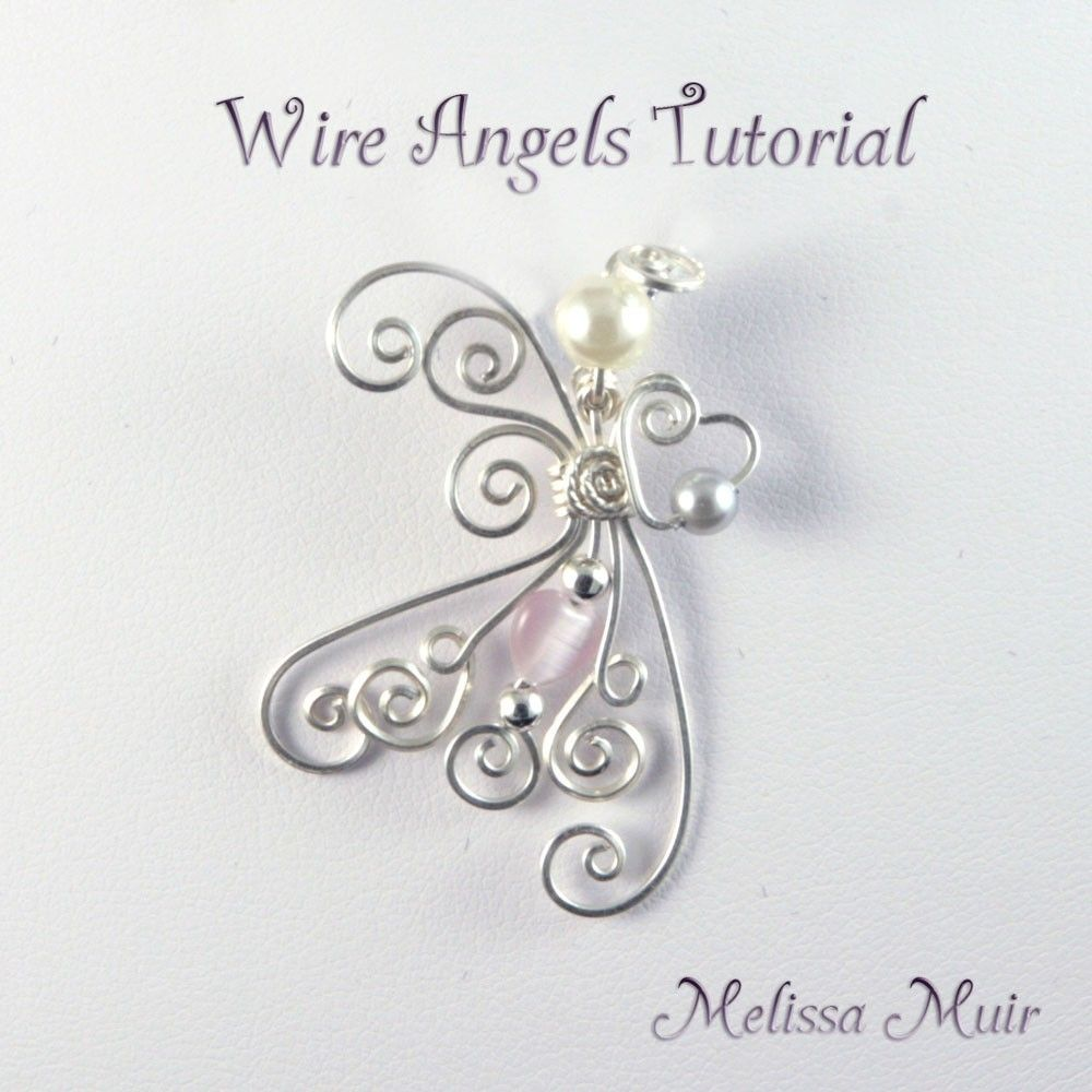 Wire Angel Pendant | Angels | Pinterest | Angel, Pendants and Wire ...