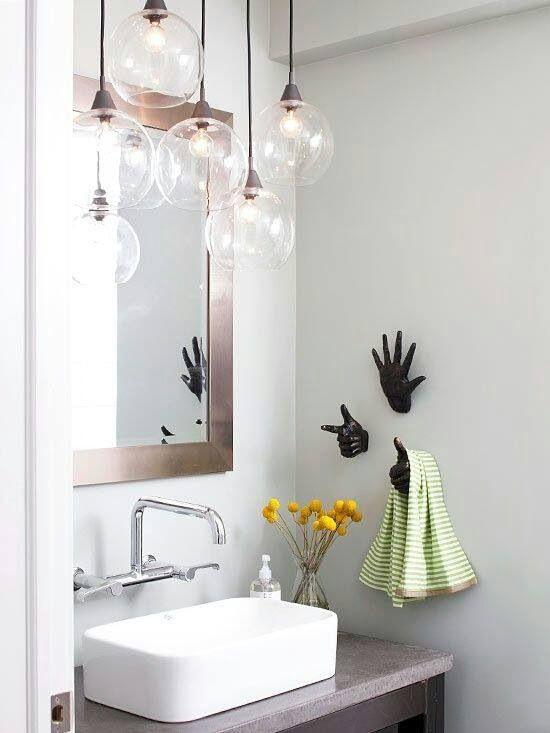 Lighting For Above Tub Or Vanity Dizajn Nebolshoj Vannoj
