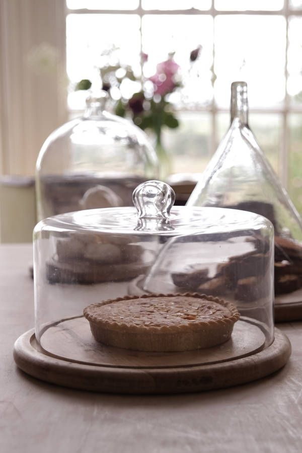 Glass Cake Stand Kitchen In 2019 Cake Dome Wood Cake Glass Cakes