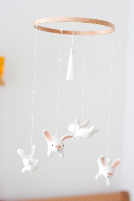 White Nursery Mobile By Mistrsandman