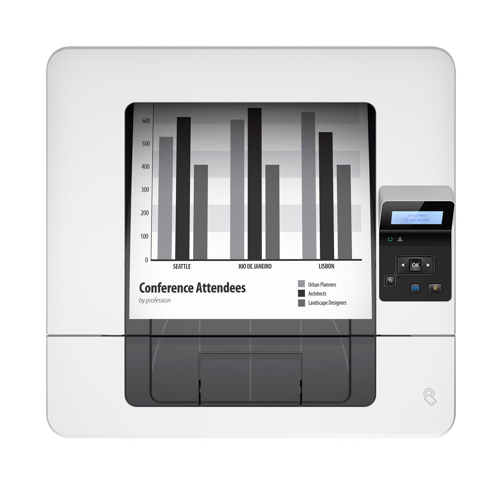 HP LaserJet Pro M402dw Wireless Monochrome Printer Amazon Dash Replenishment Ready C5F95ABGJ