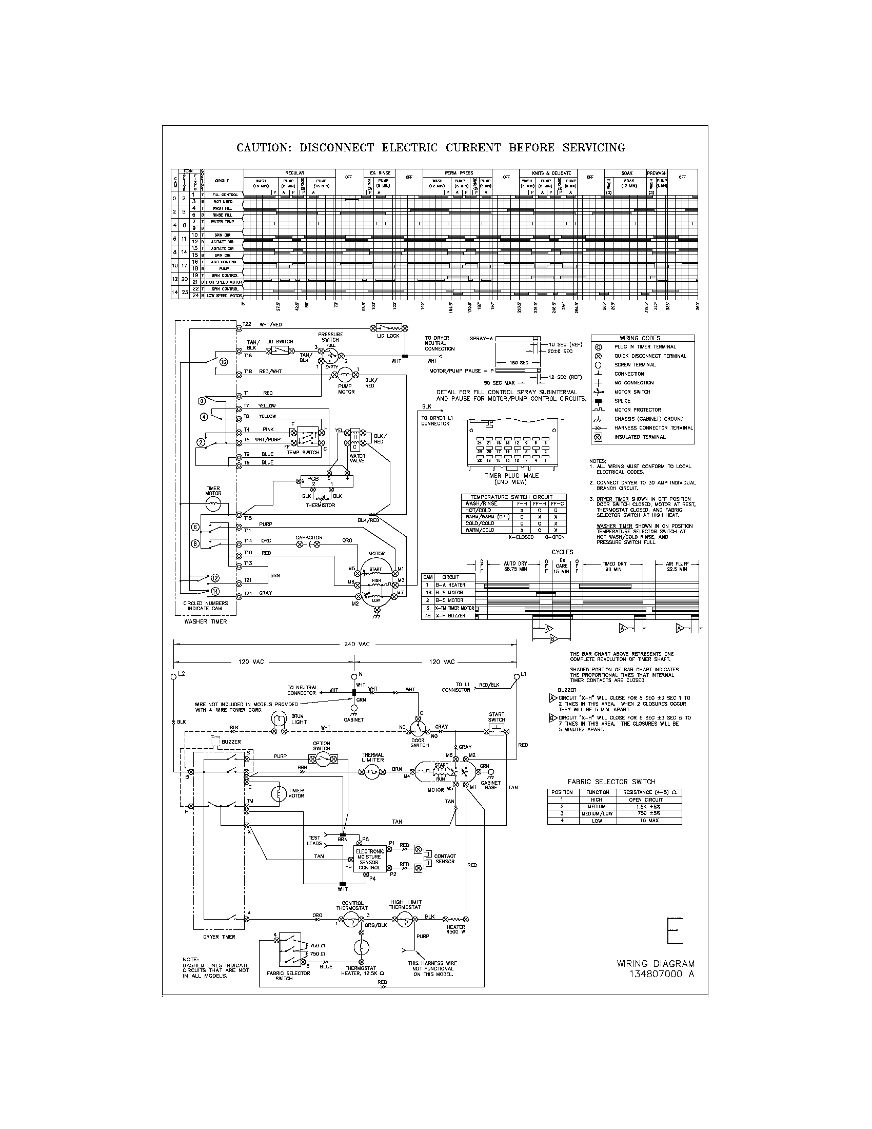 Kenmore Laundry Center Wiring Diagram 411 Amps Volts Switch N Dryer Door