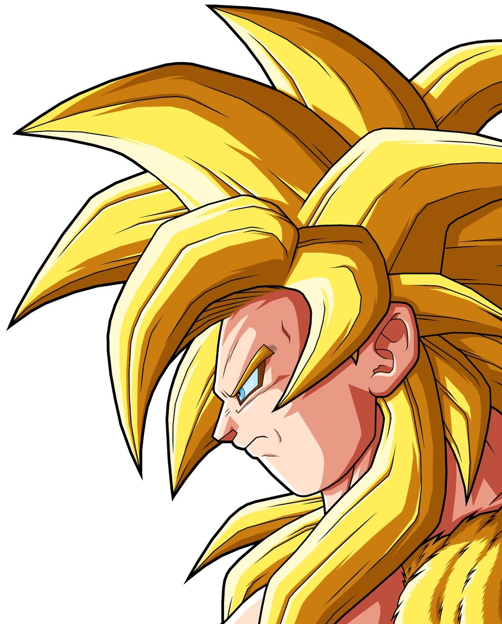 Goku super saiyan 4 gold goku super saiyan god 3 awesome pinterest goku super goku and - Super sayen 10 ...