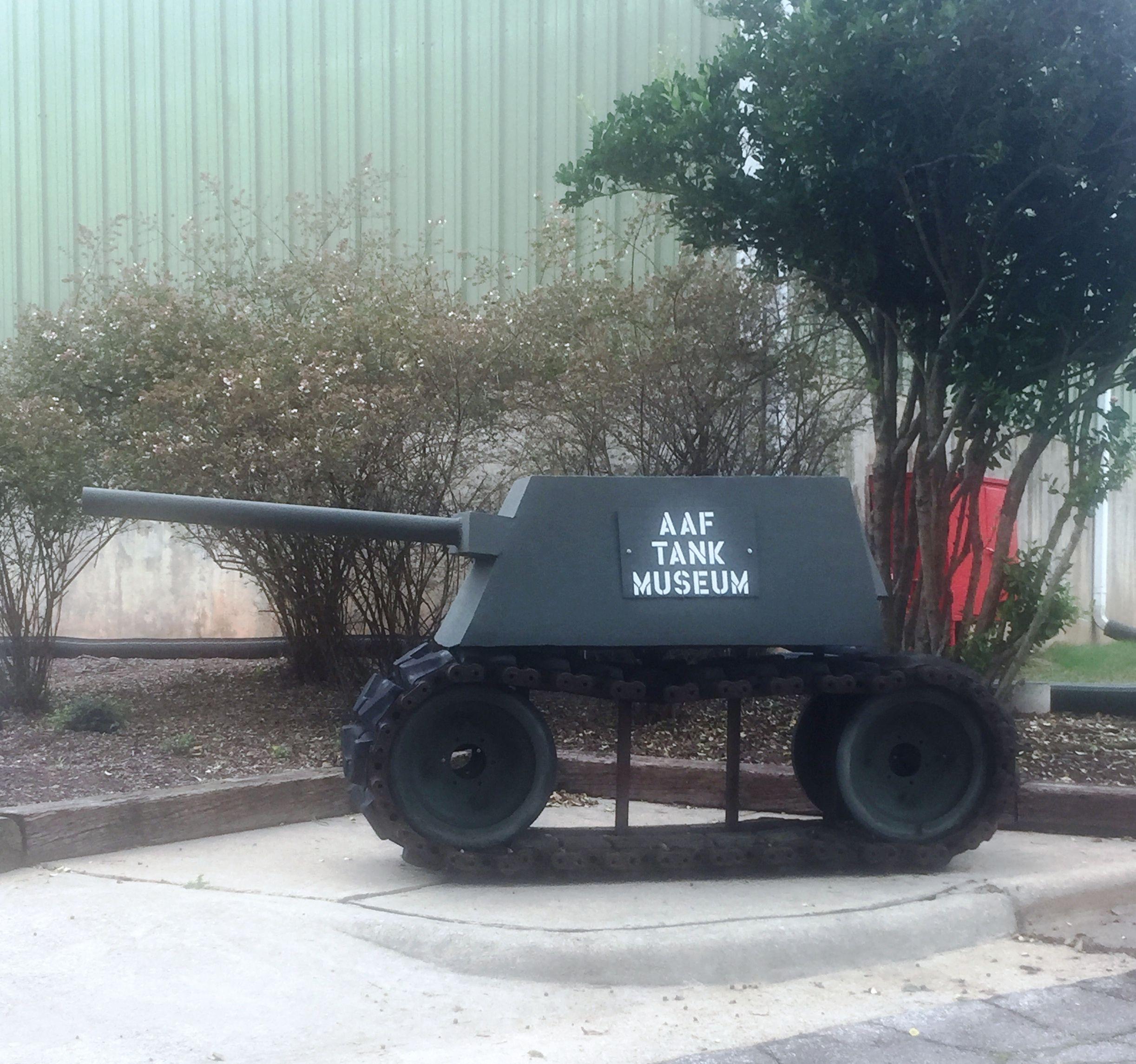 AAF Tank Museum In Danville, VA.-Photo By Lew Adams