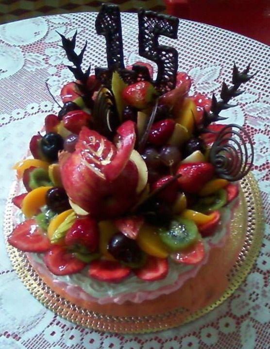 Mi torta de 15 ❤️