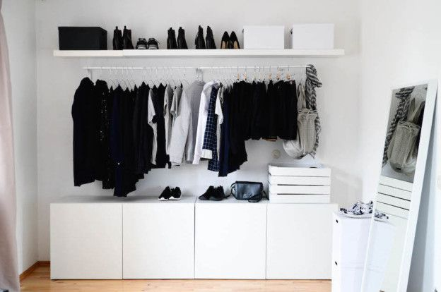 Malm Ikea Walk In Closet   Google Search