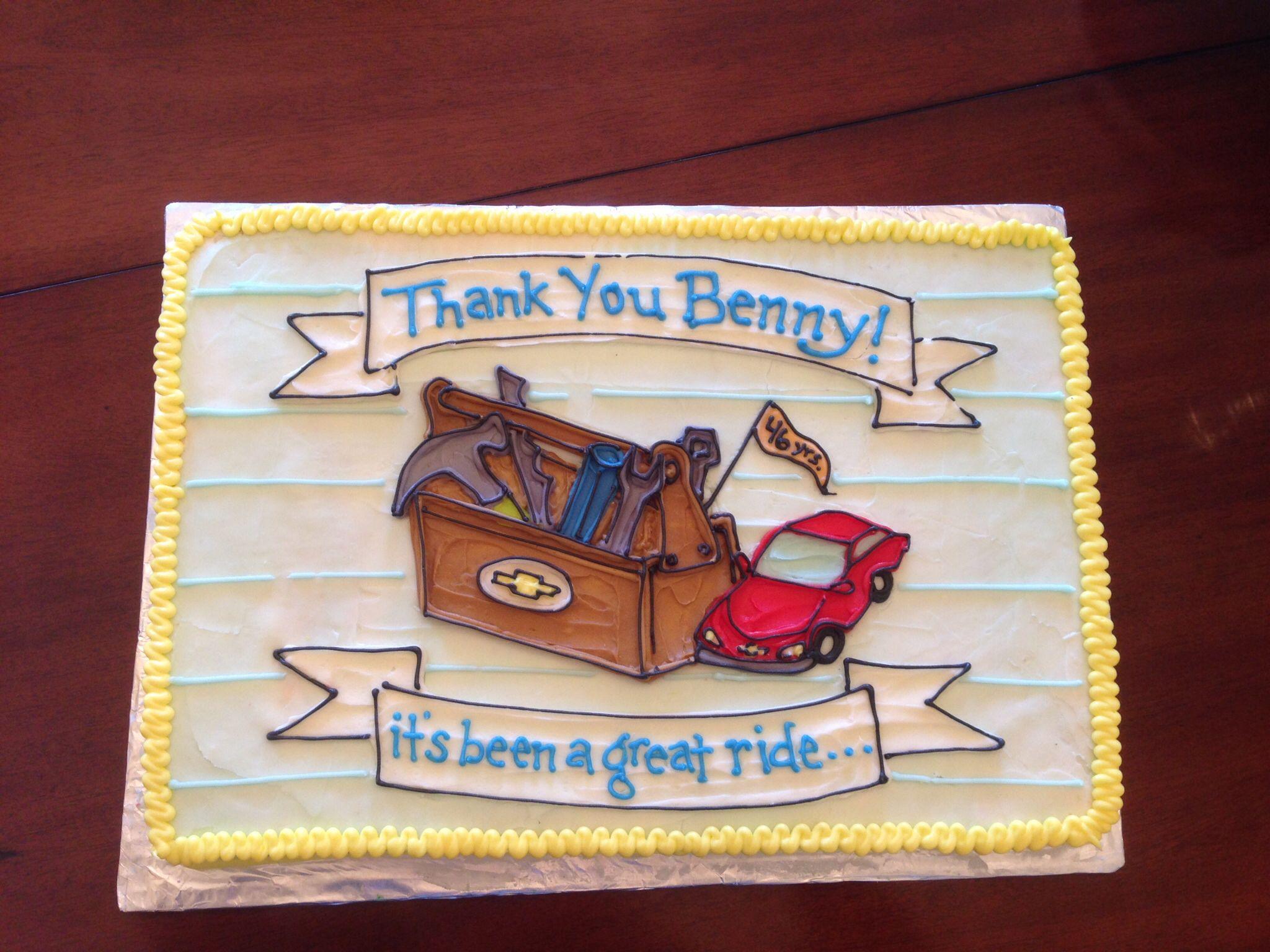 Happy retirement cake retirement cakes cake