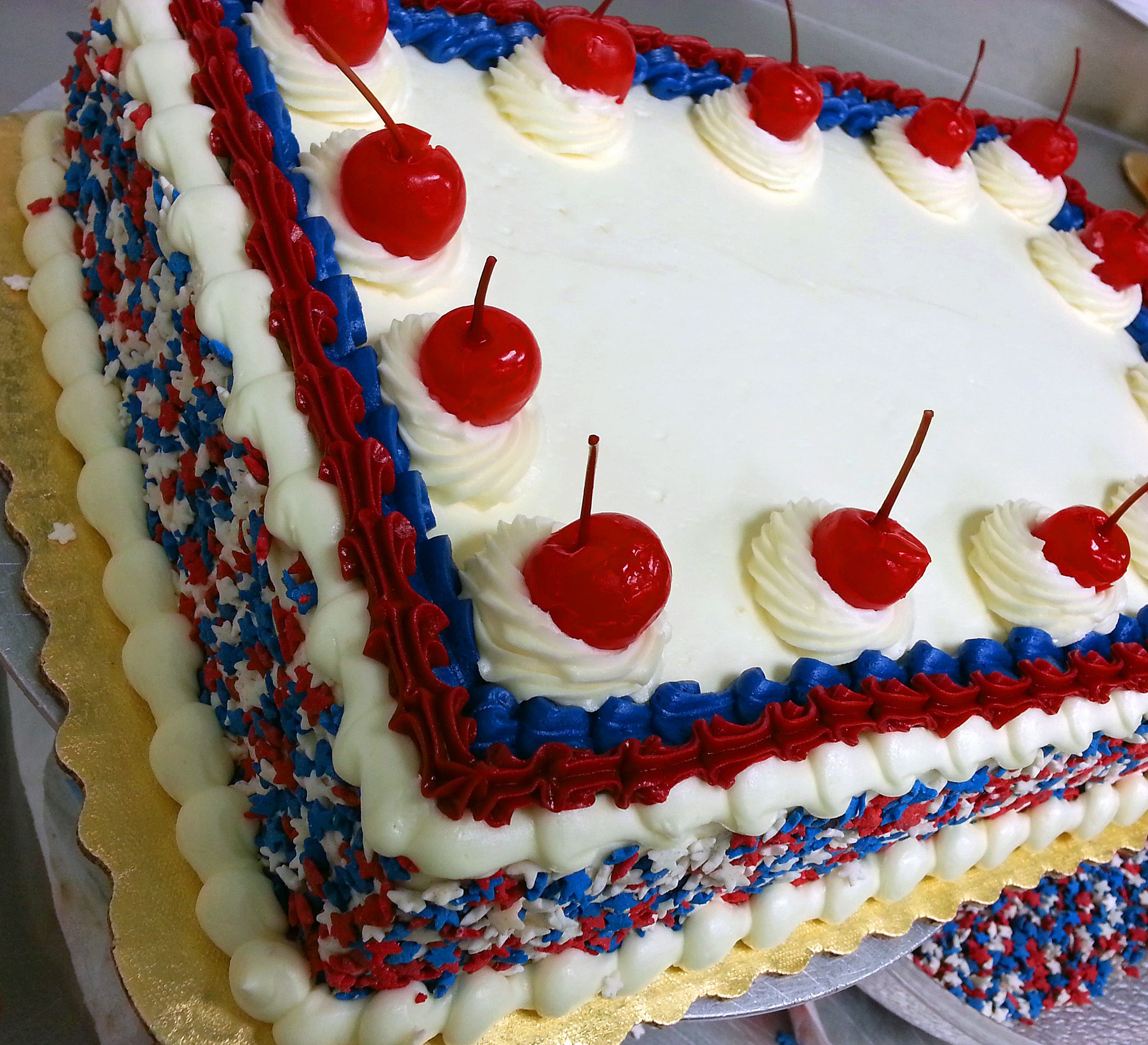 Memorial Day Cake Patriotic Cake 4th Of July Cake Fourth Of