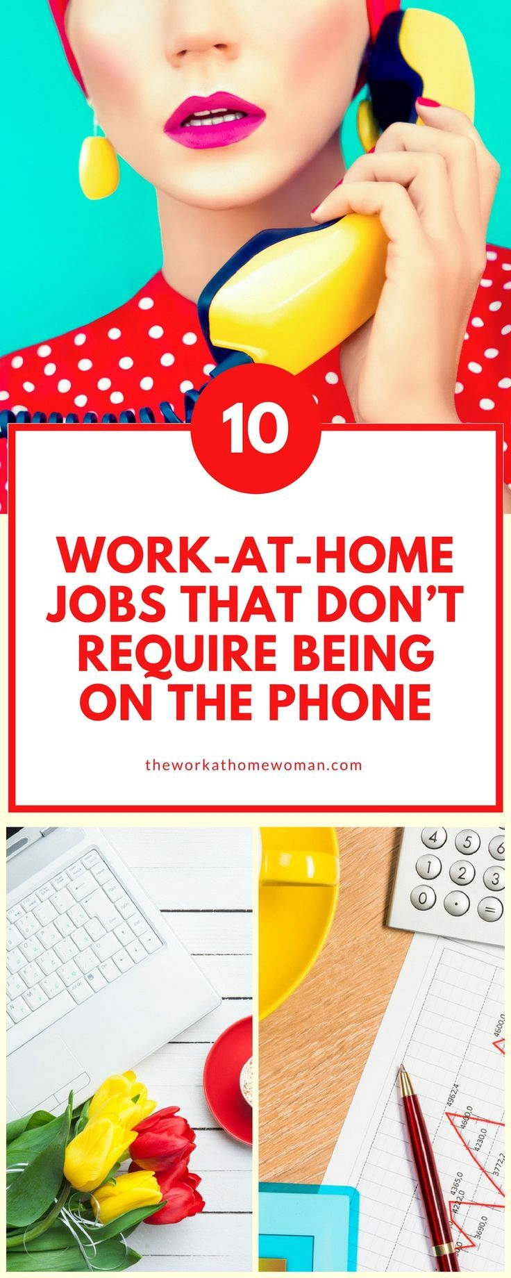 24 WorkatHome Jobs That Don't Require Being on the Phone