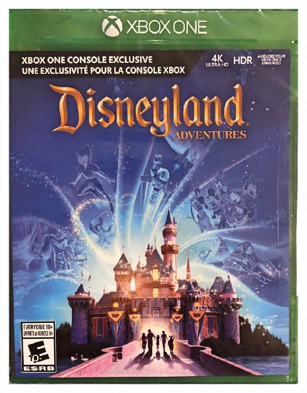 Disneyland adventures microsoft xbox one brand new sealed