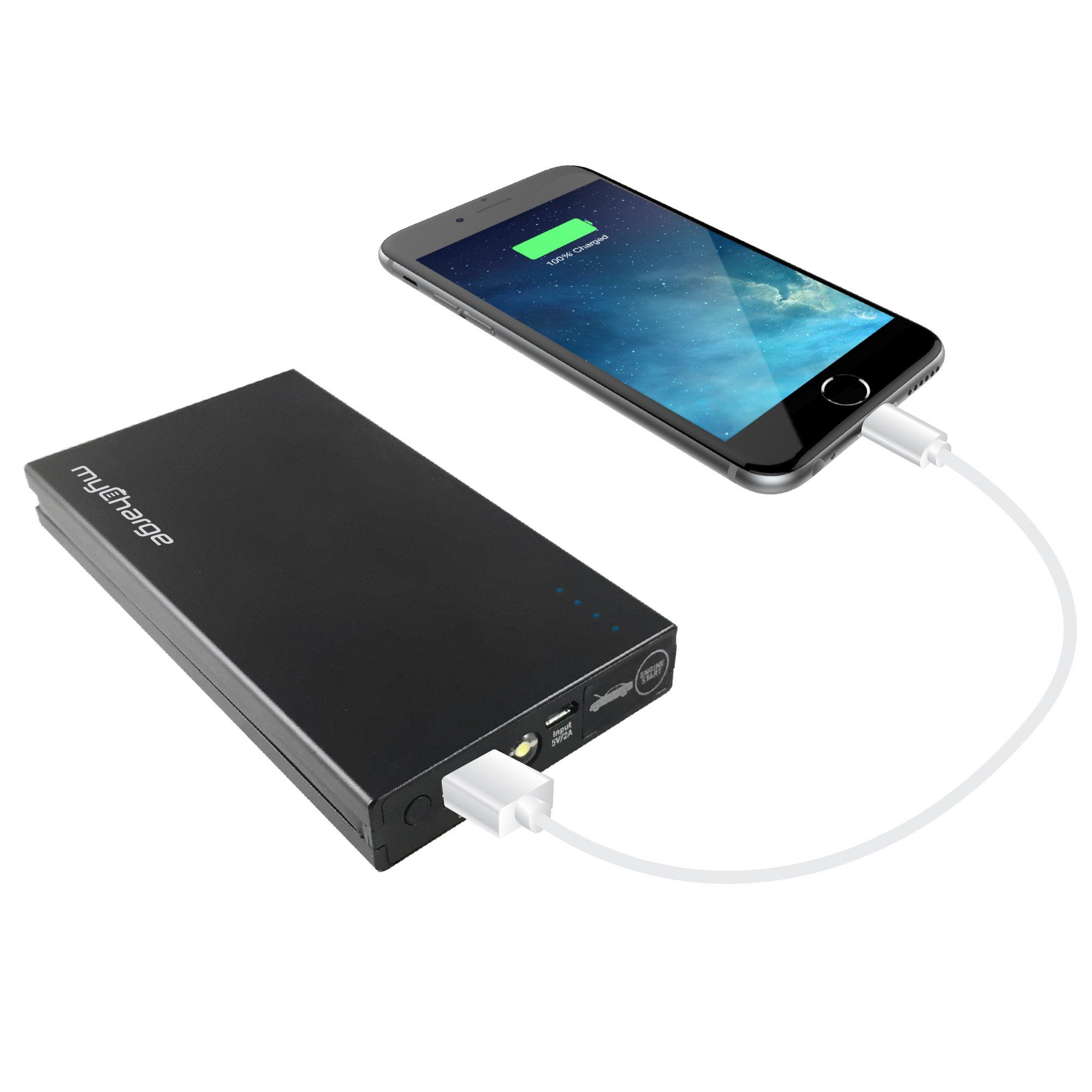 Mycharge Adventure Jumpstart Portable Charger 6600 Mah With Detachable Jumper Cables Read More Reviews Of Phone Battery Charger Portable Charger Powerbank