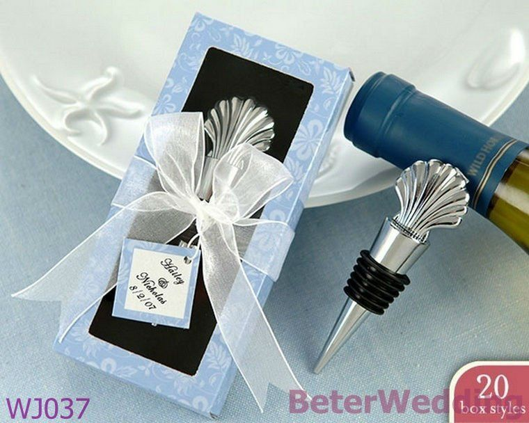 Wedding Favours Wholesale Wj037 Scallop Shell Bottle Stopper Wedding Favors Use As Wedding Giveawayschina Mainland Weddingnoveltiesfavors