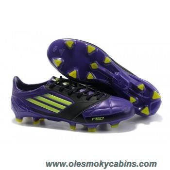 2d93cd3ce buy new adidas adizero trx fg leather micoach bundle shoes purple green  black football shoes for