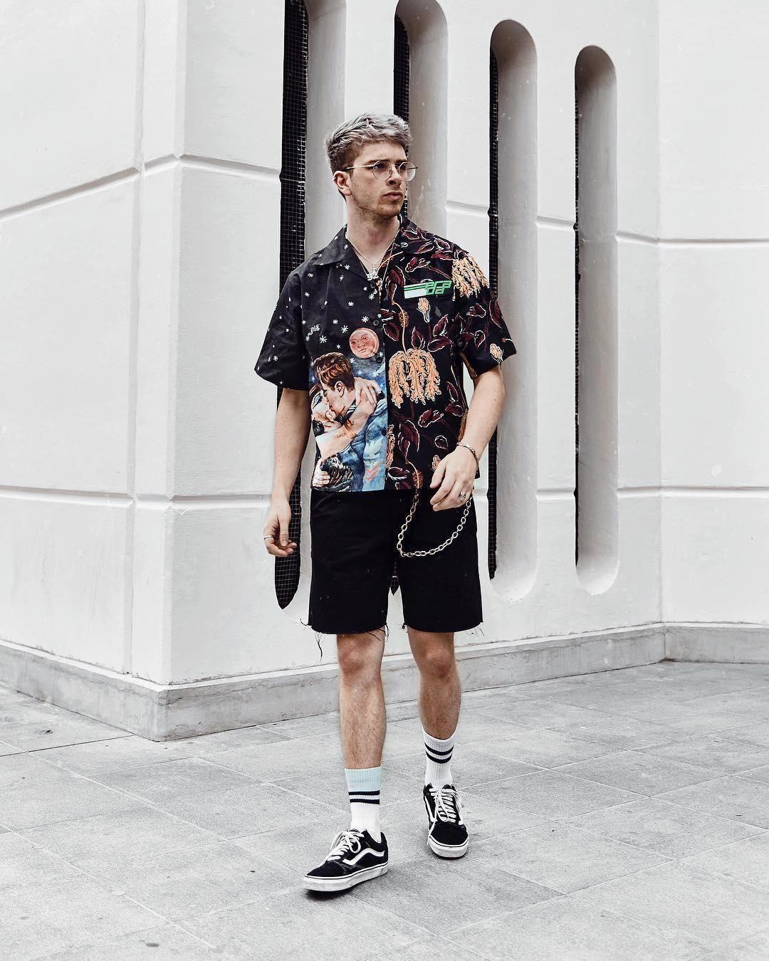costume vans uomo