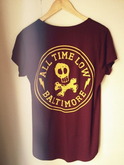 all time low shirt..... do want