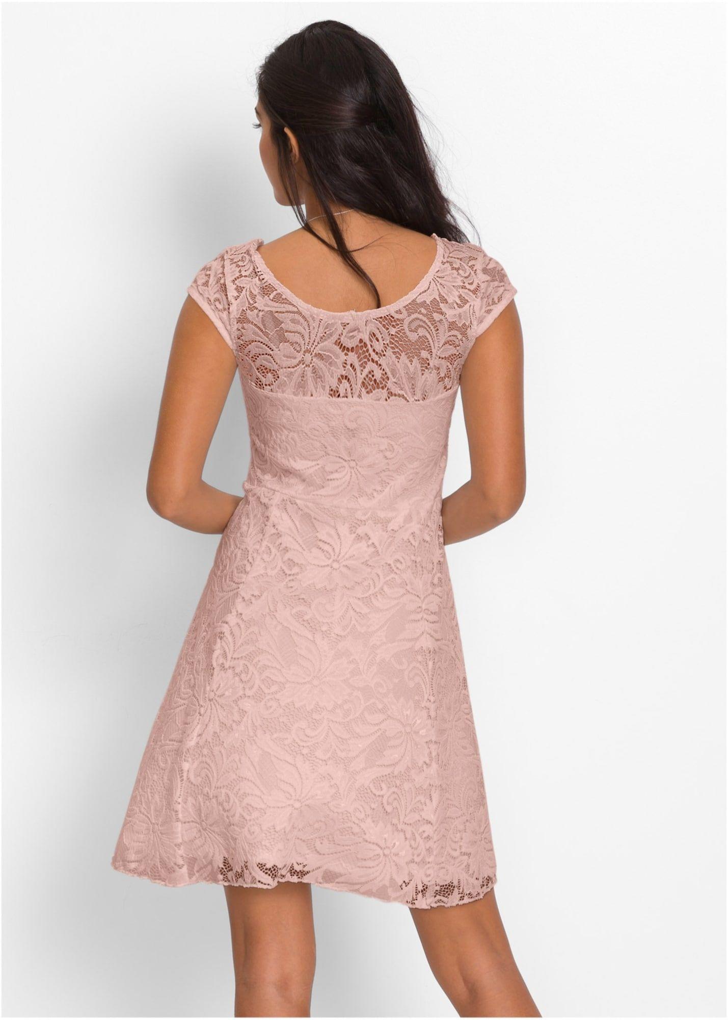 bonprix jerseykleid damen, pink, größe 40/42 | kleider