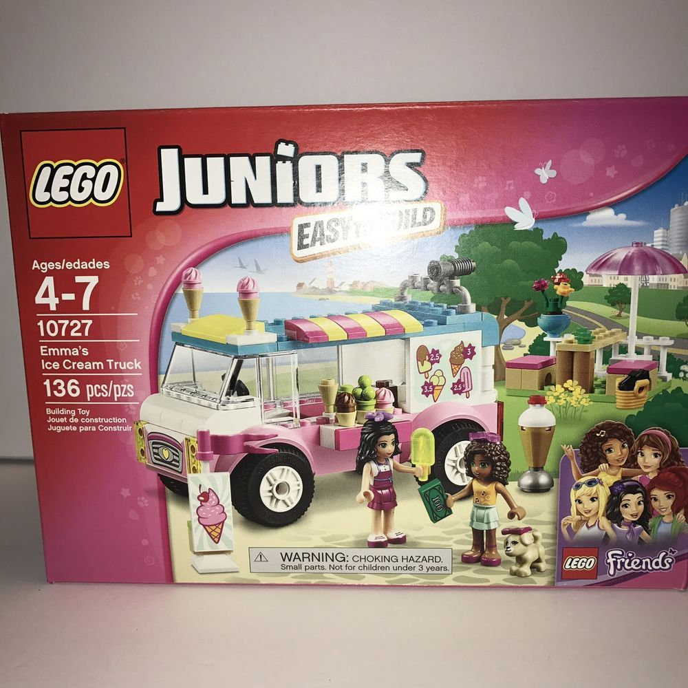 lego juniors set10727 friends emma's ice cream truck 136