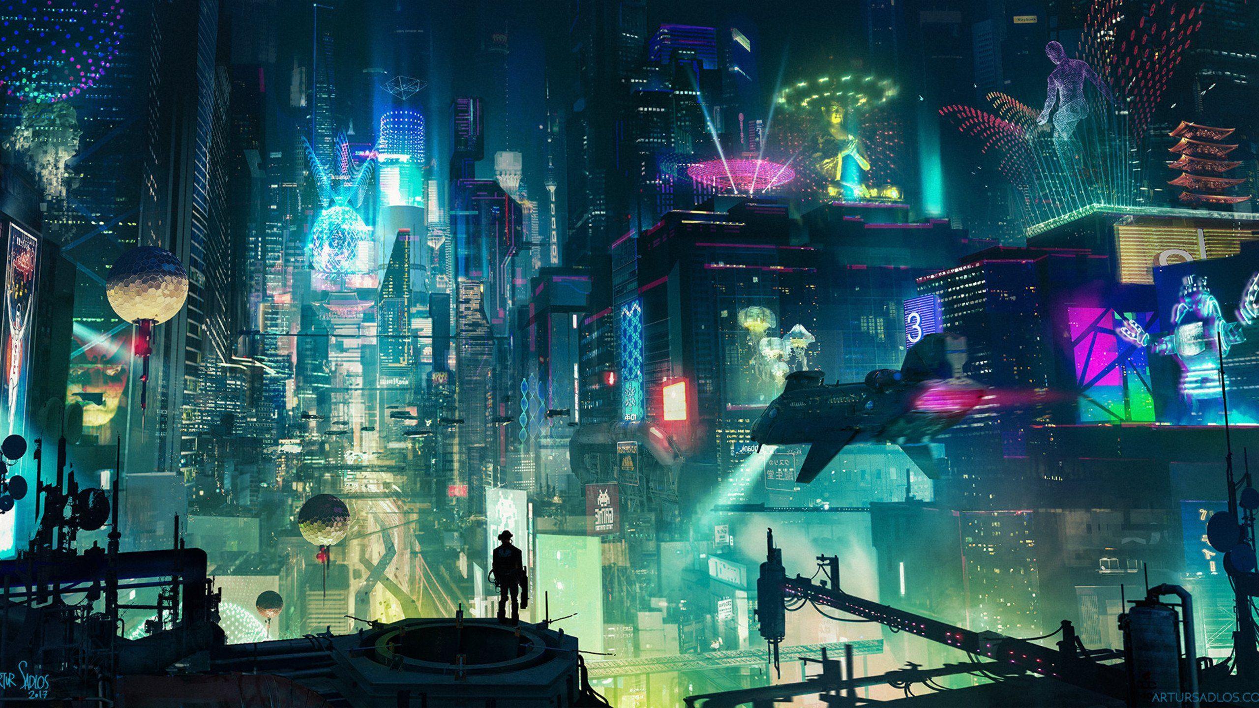 Cyberpunk City Wallpaper Futuristic City Cyberpunk City Cyberpunk Aesthetic
