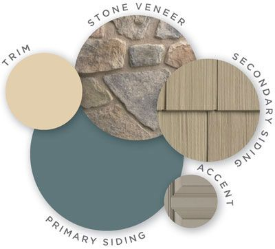 Mastic Color Palette Honed Vitality Quest Vinyl Siding