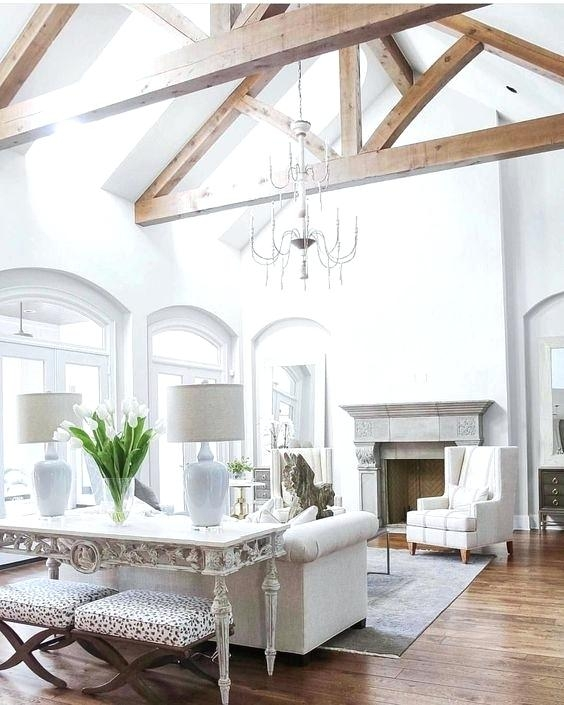 Vaulted Ceiling Lighting Calculator Beams Diy Bedroom Storage Ideas With Pros And Cons Decor Vaulted Living Rooms Vaulted Ceiling Living Room Beams Living Room