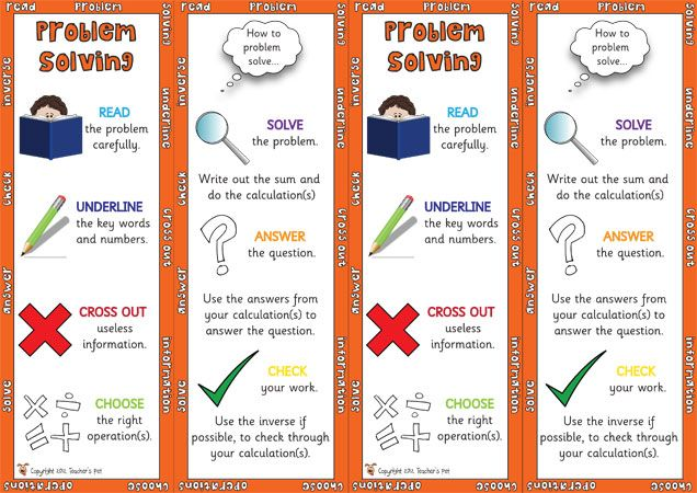 key stage 2 problem solving