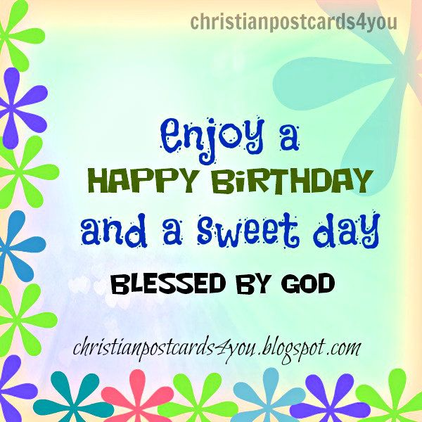 Happy Birthday Religious – Free Religious Birthday Cards