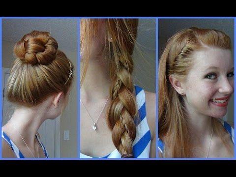 cute easy hairstyles for school teenagers stepstep