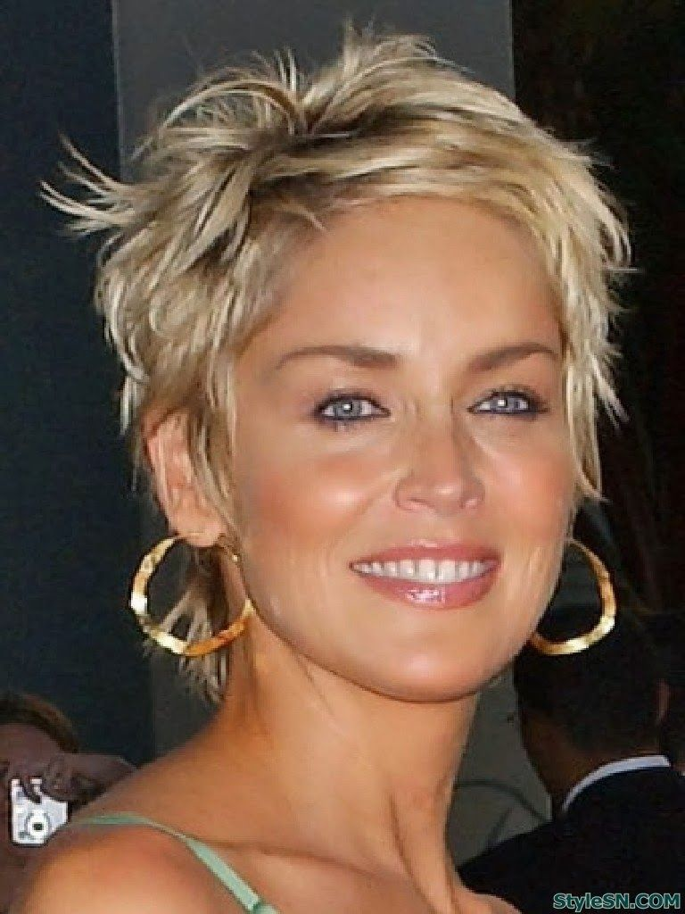 Ideas wedding hairstyles for short hair | Hairstyle FS | Short blonde hair,  Short hair styles, Sharon stone hairstyles
