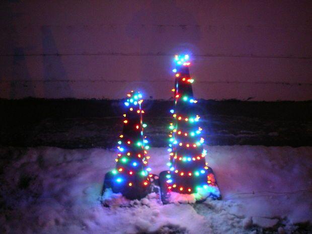 Traffic Cone Christmas Tree Cone Christmas Trees Christmas Tree Christmas