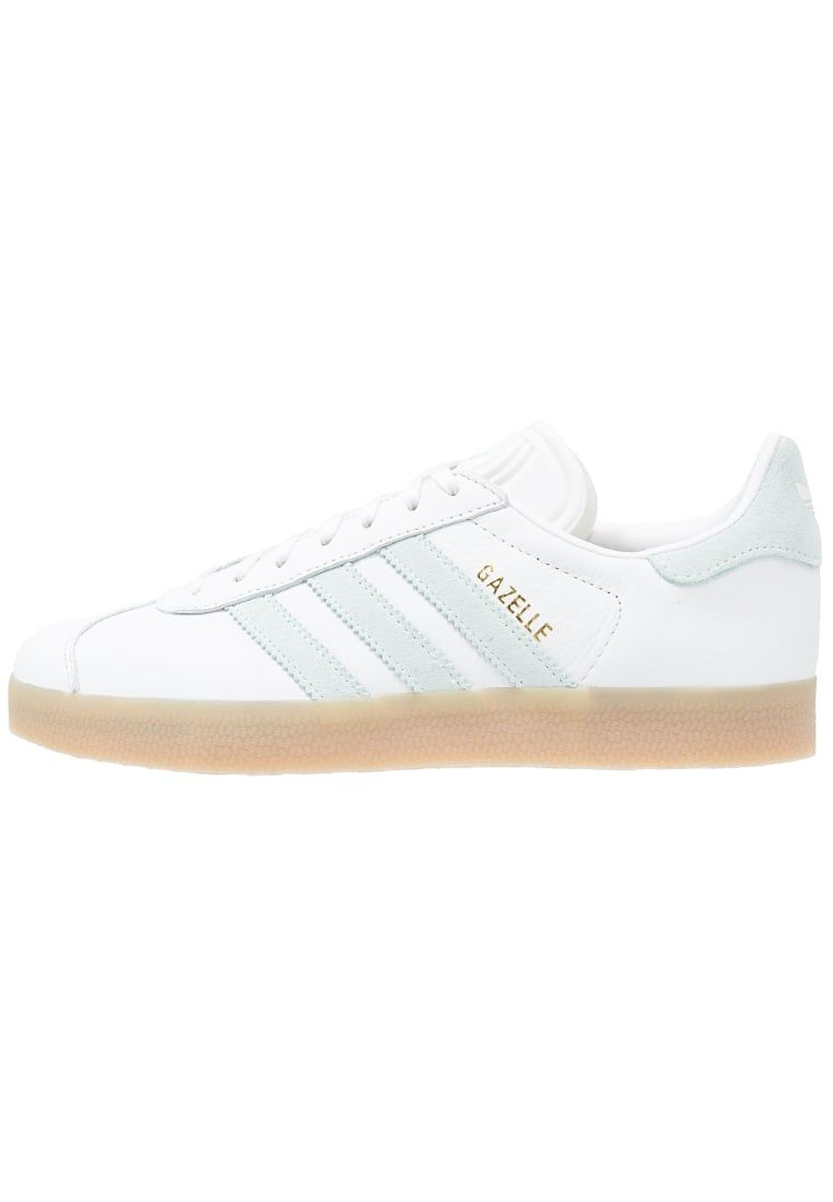 adidas beige & brown gazelle trainers