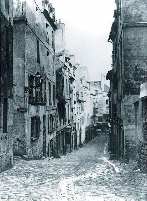 This little street in Paris no longer exists :(