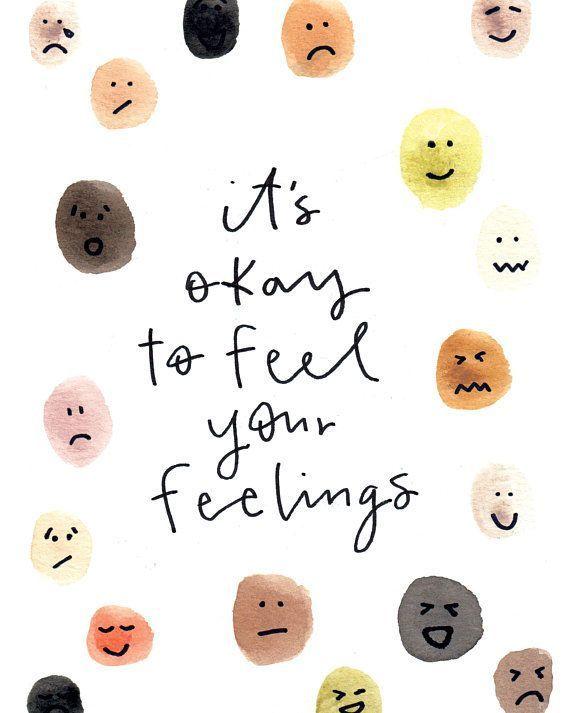 Feelings 8x10 Fine Art Print