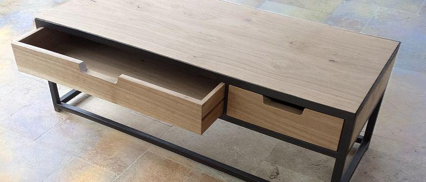 Etapes de fabrication d\u0027un meuble sur mesure, détaillant les étapes