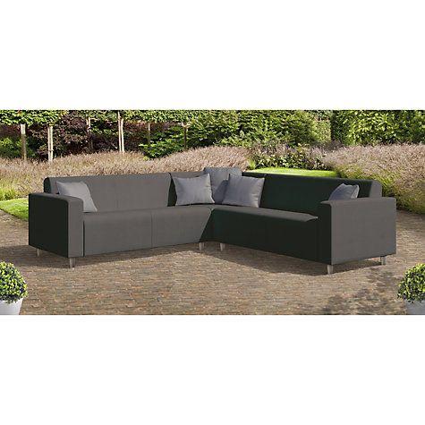 Phenomenal Cosi Frejus Weatherproof 6 Seater Garden Corner Sofa Set Inzonedesignstudio Interior Chair Design Inzonedesignstudiocom