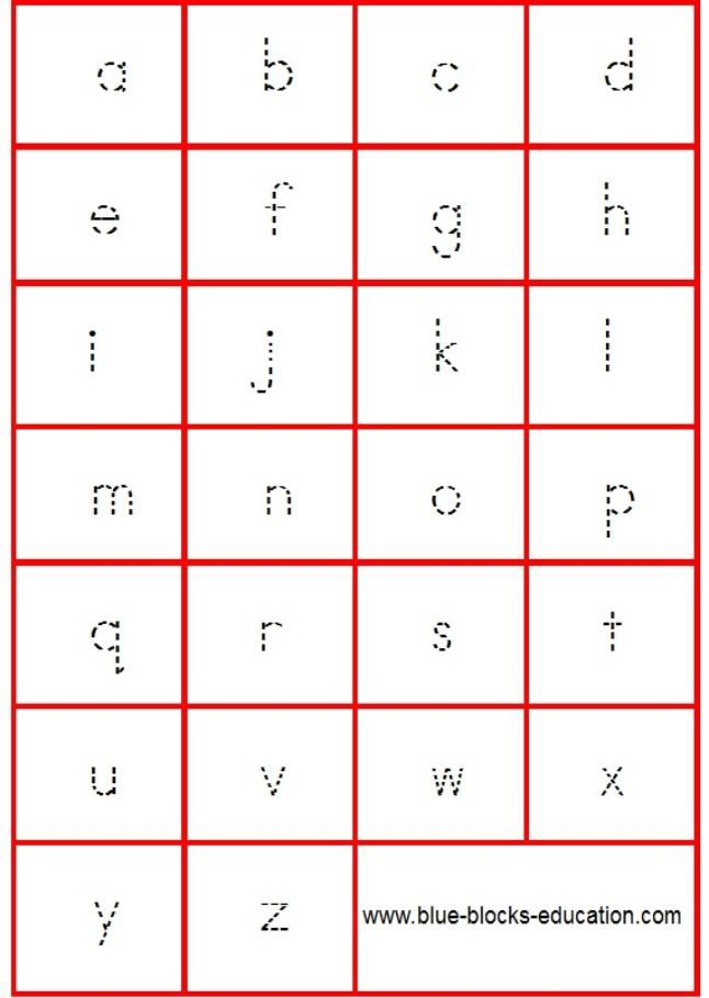 alphabet worksheets – Alphabet Writing Worksheets