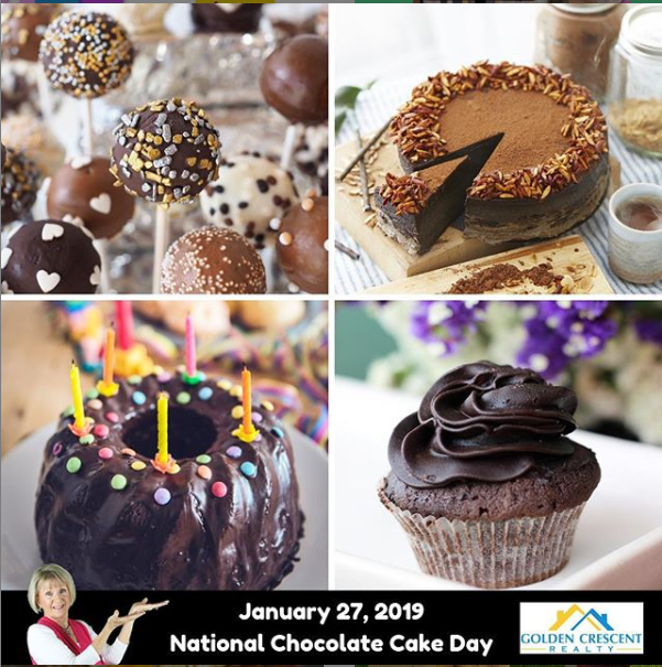 January 27 2019 National Chocolate Cake Day National Chocolate Cake Day Cake Day Cake