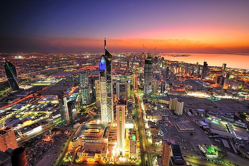 Kuwait Sunset City Kuwait City Tourist