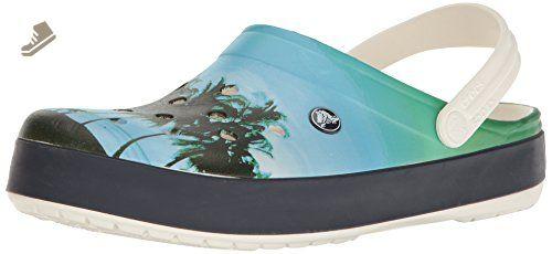 070f7ed8489af8 crocs Unisex Crocband Tropics Clog Mule